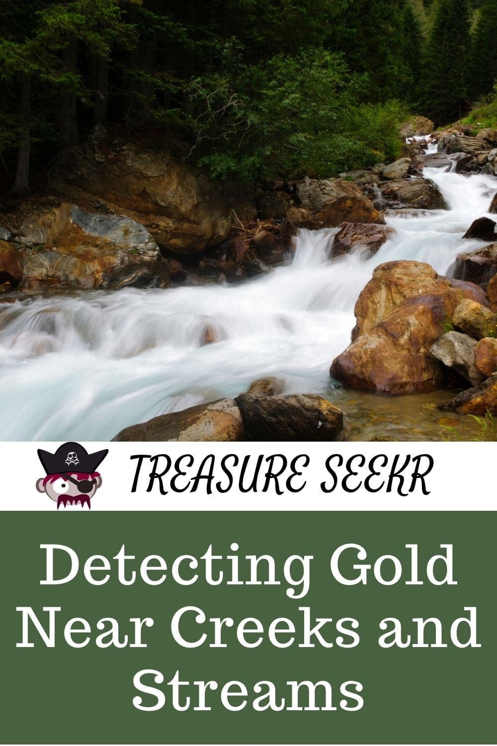 Detecting Gold Near Creeks and Streams