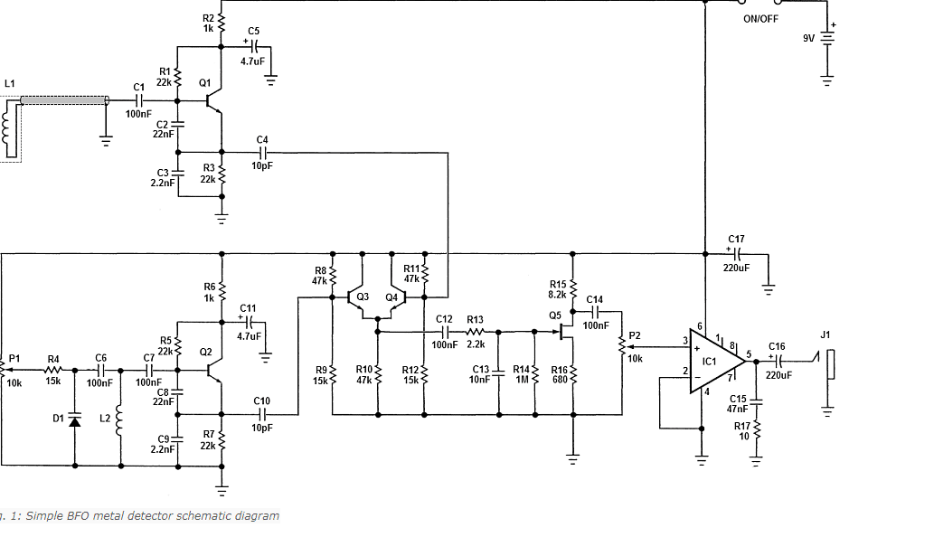 BFO Electrical Schematic Diagram
