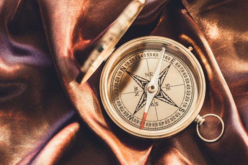azimuth compass