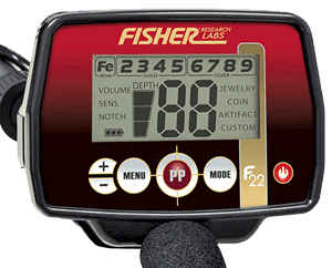 Fisher F22 Control Panel