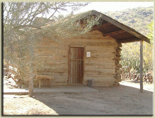 The Original Ashurst Cabin.