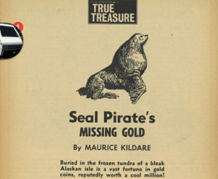 Seal Pirate's Missing Gold
