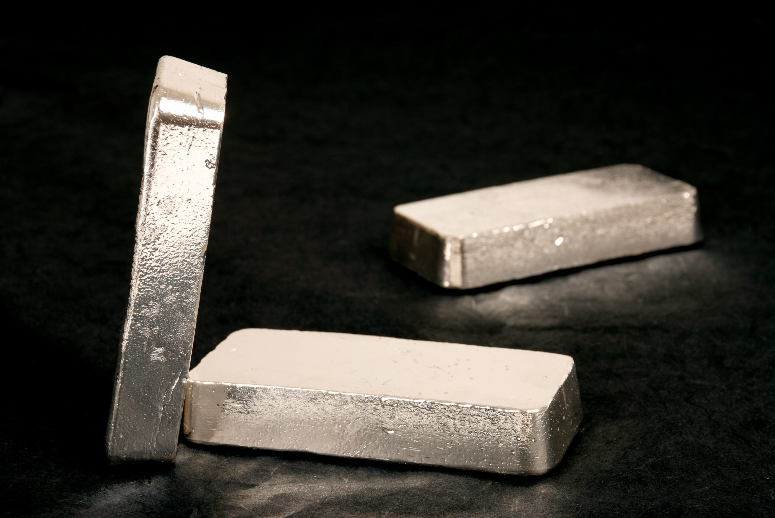 Image of 3 silver bars