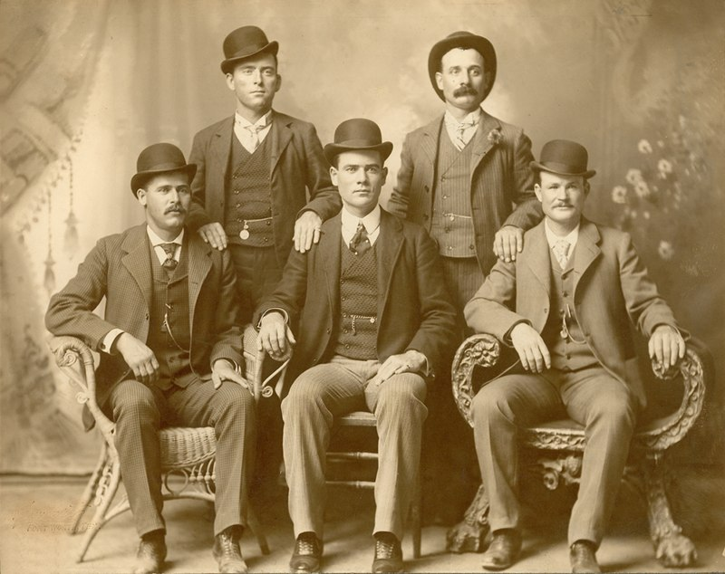 Butch Cassidy and The Wild Bunch Circa 1900