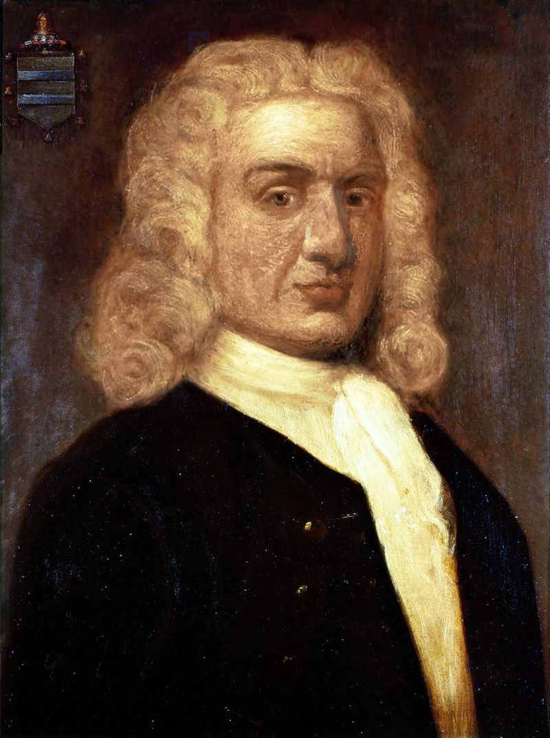 Portrait of Captain William Kidd