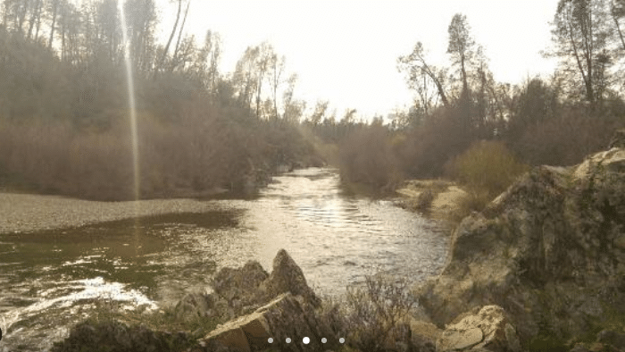 View of Clear Creek in California