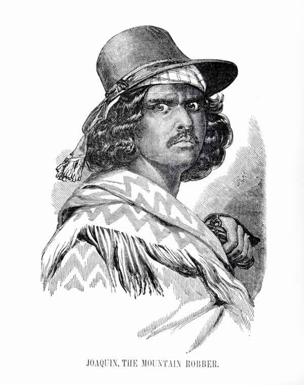 Joaquin Murrieta The Mountain Robber