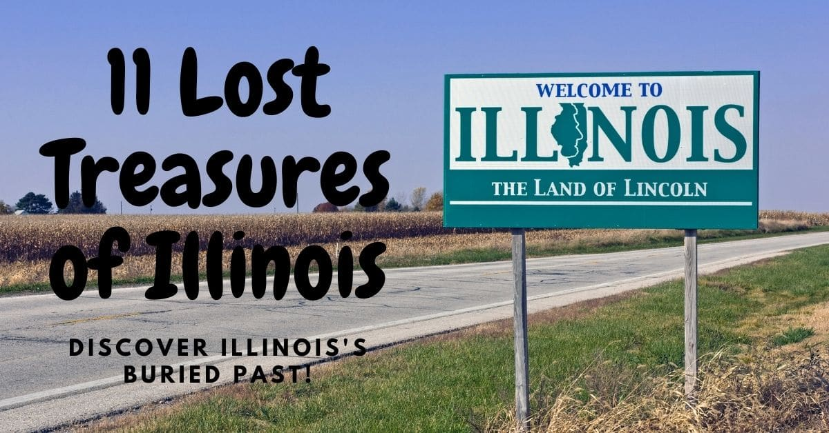 A welcome to Illinois road sign - 11 Lost Treasures of Illinois