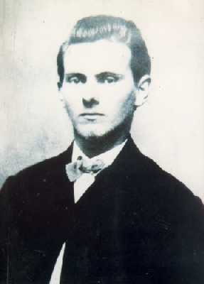 Photo of Jesse James When He Was Young.
