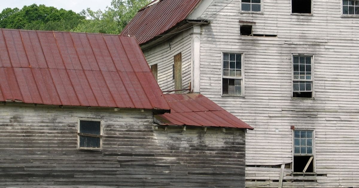 Old Abandoned Lumber Mill