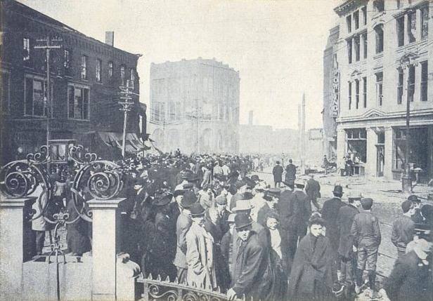 Chelsea, Massachusetts after the fire of 1908